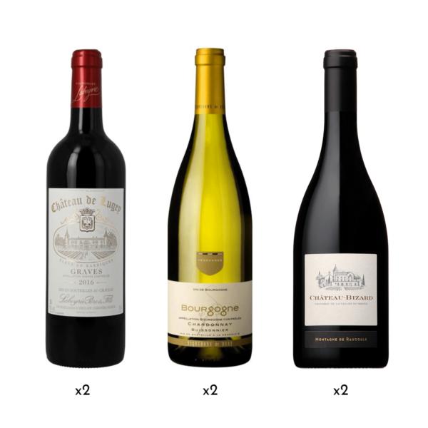 Coffret vins best-seller France