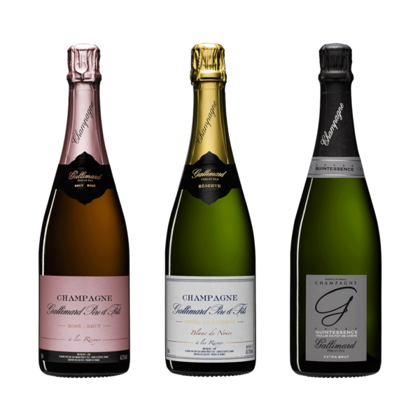 Pack Champagne Gallimard