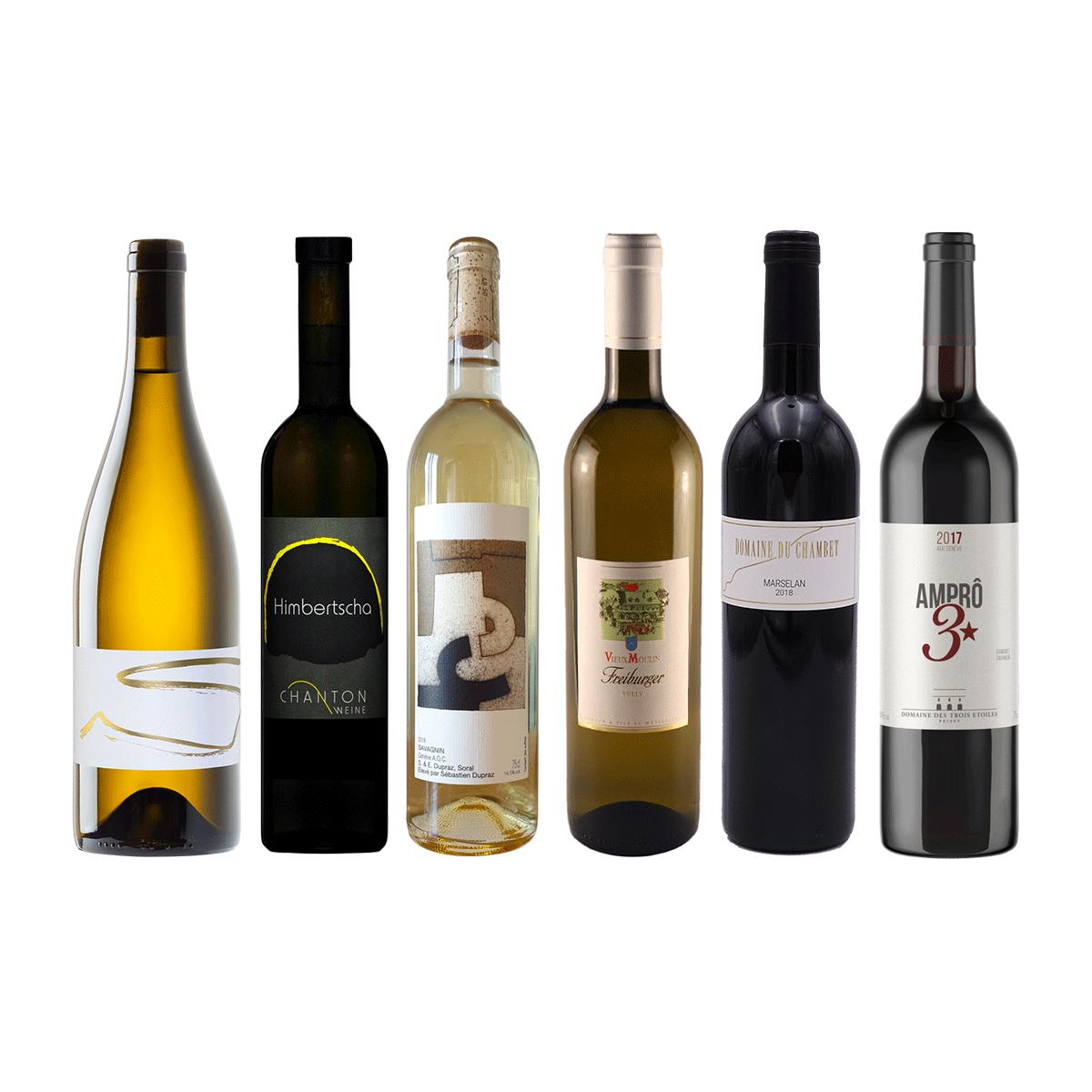 coffret vins romands